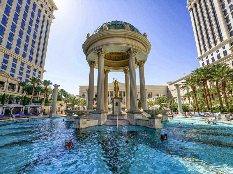 L'hôtel Caesar's Palace à Las Vegas