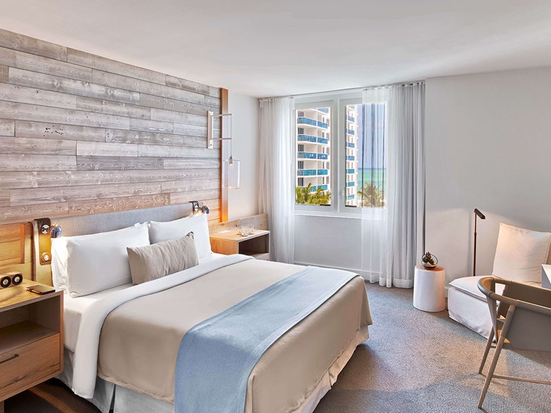 Suite de l'hôtel South Beach