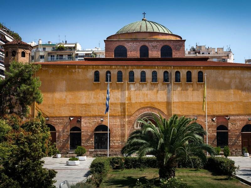 L'église Sainte-Sophie de Thessalonique