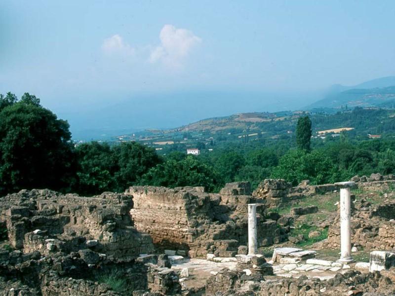 Le site archéologique de Longos à Edessa