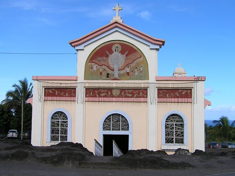 L'église de Piton Sainte Rose