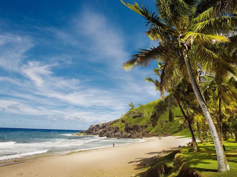 La plage sauvage de Grande Anse