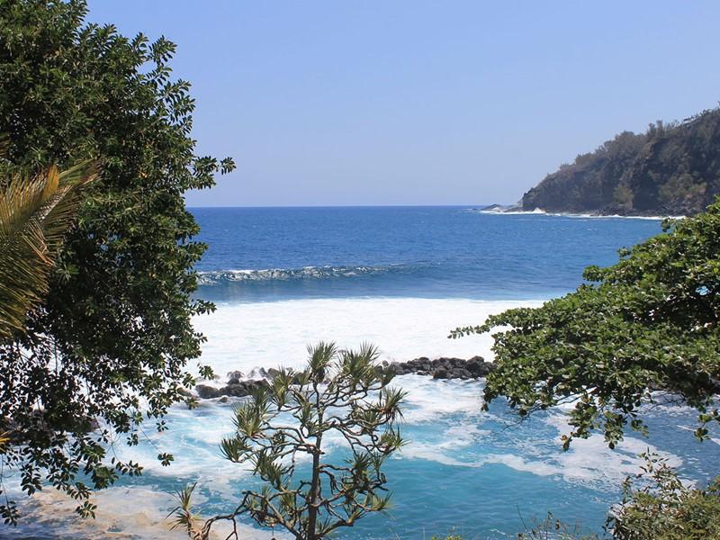 La plage de Manapany-les-Bains