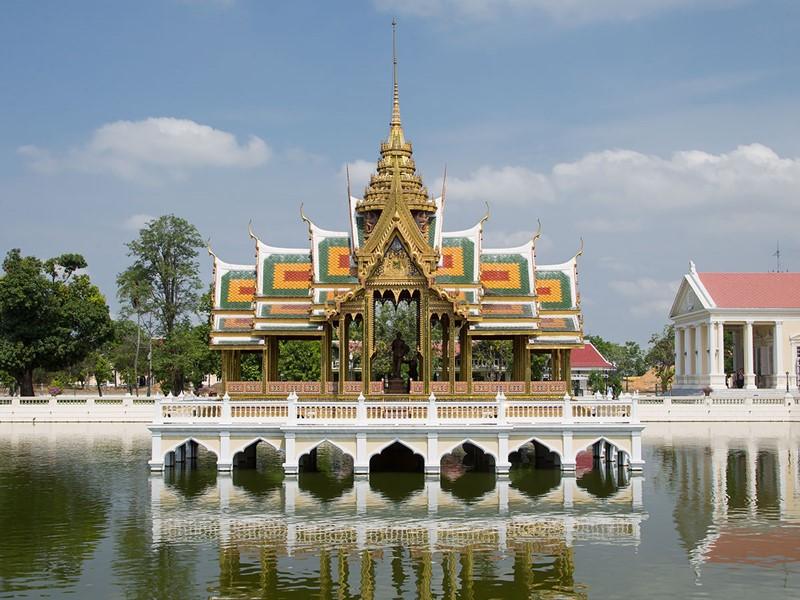 Promenade au Palais Bang Pa-In en Thailande
