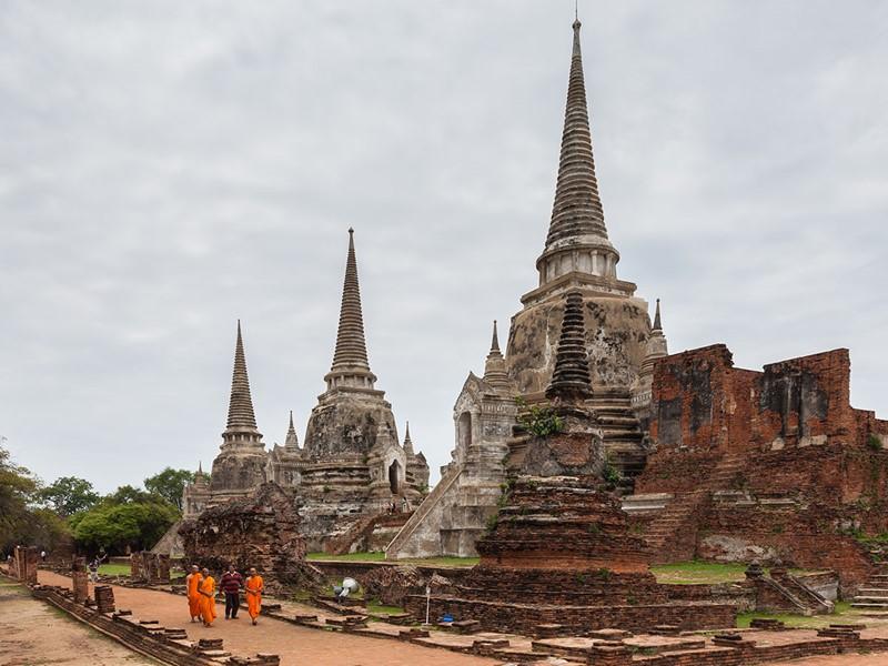 Visite d'Ayutthaya, l'ancienne capitale du Royaume de Siam