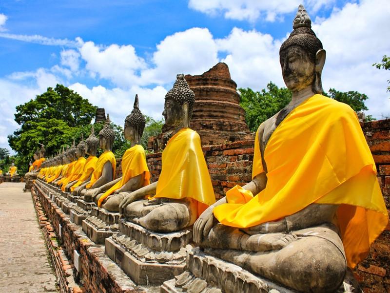 Explorez les ruines et les temples les plus importants d'Ayutthaya