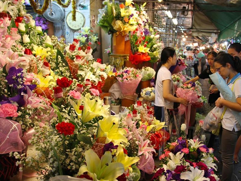 Marché aux fleurs (Pak Klong Talat) de Bangkok