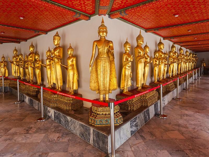 Visite du temple Wat Pho situé en Thailande