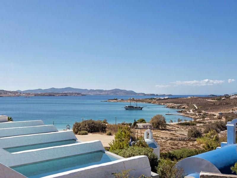 Proftez de la vue de l'hôtel Paros Agnanti.