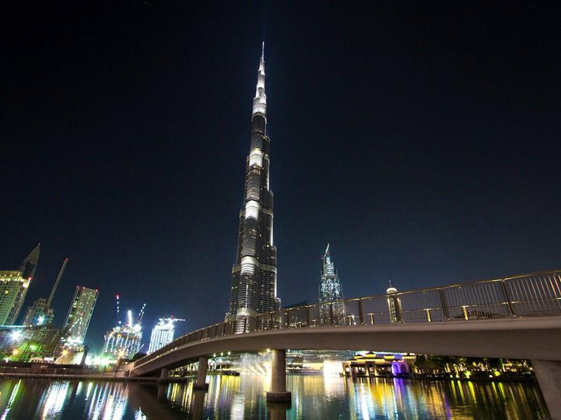 La tour Burj Khalifa
