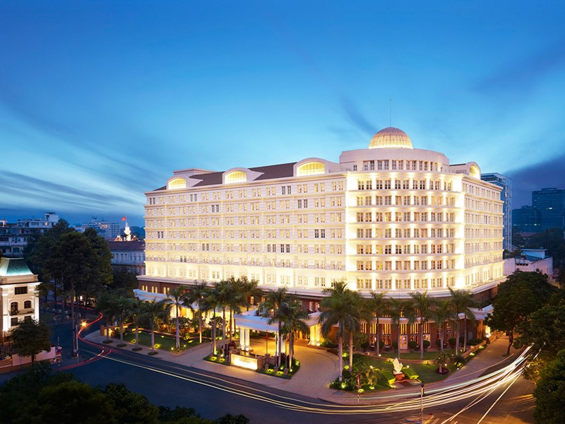 Vue du Park Hyatt Saigon situé en plein coeur de Hô-Chi-Minh-Ville
