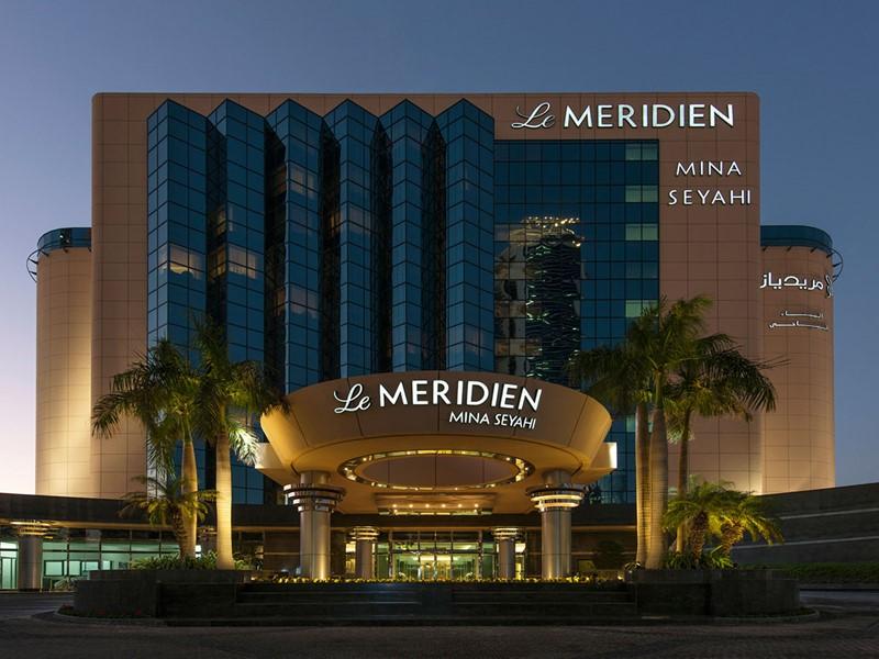 Vue de l'hôtel Méridien Mina Seyahi à Dubaï