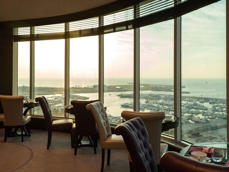 Club Lounge de l'hôtel Méridien Mina Seyahi