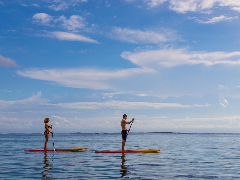 Profitez des nombreuses activités nautiques de l'hôtel Le Nautile