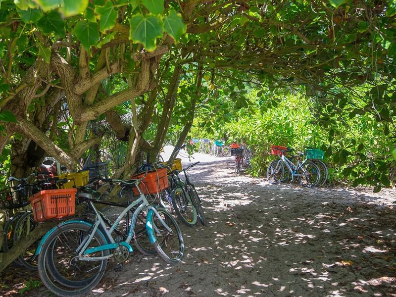 Profitez d'une balade à vélo à l'hôtel Le Nautique Luxury Waterfront