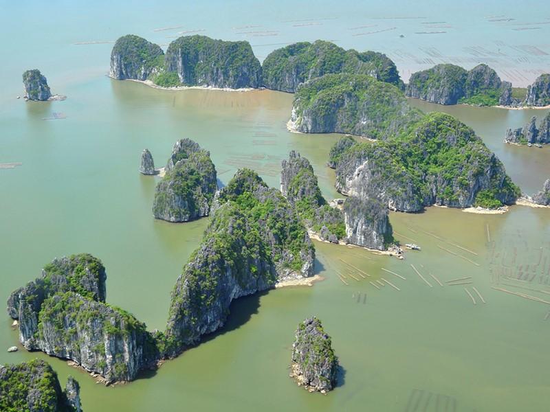 Vue de la Baie d'Halong