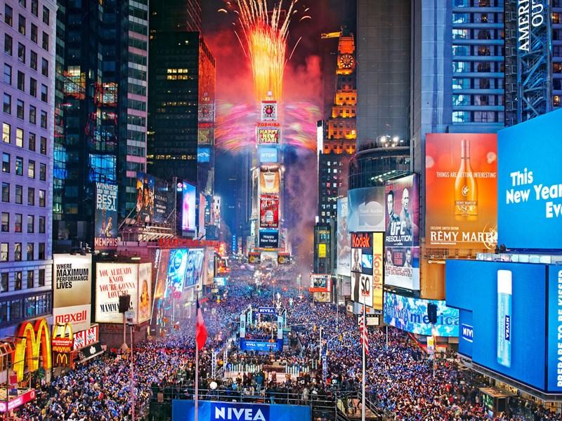 Le soir du nouvel an, profitez d'une ambiance unique dans tout la ville