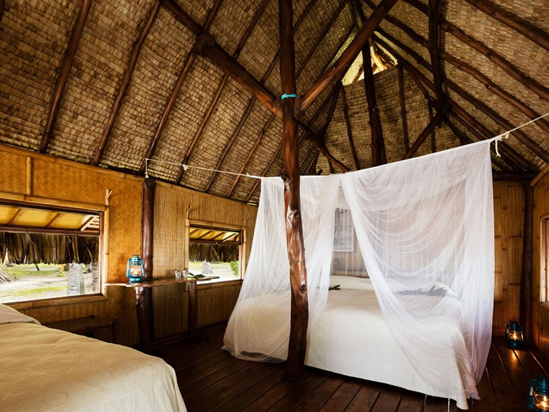 Le bungalow de l'annexe Le Sauvage à Rangiroa