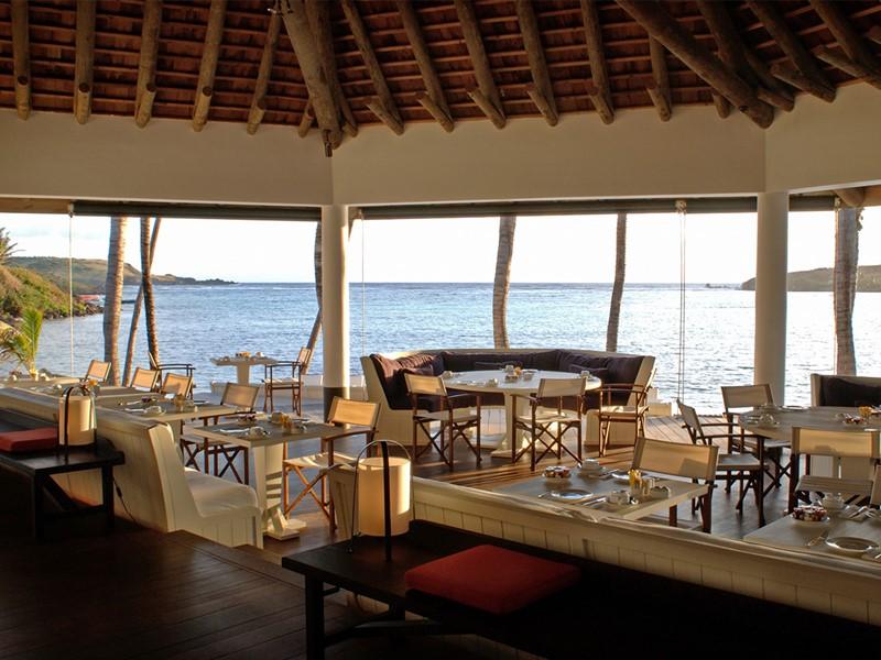 Restaurant Le Sereno du Sereno situé aux Antilles
