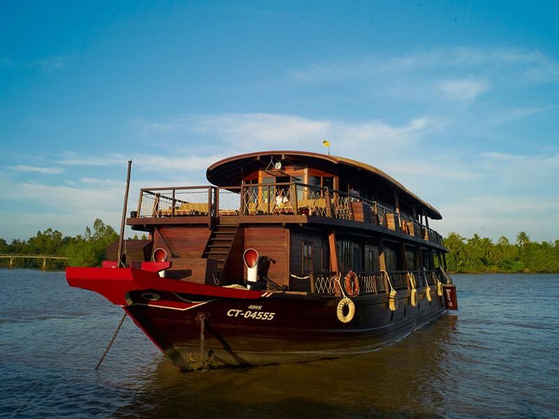Voguez sur le Mékong à bord de jonques traditionnelles