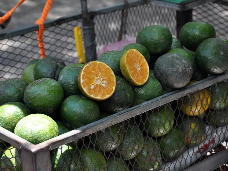 Les fruits savoureux des marchés du Sud