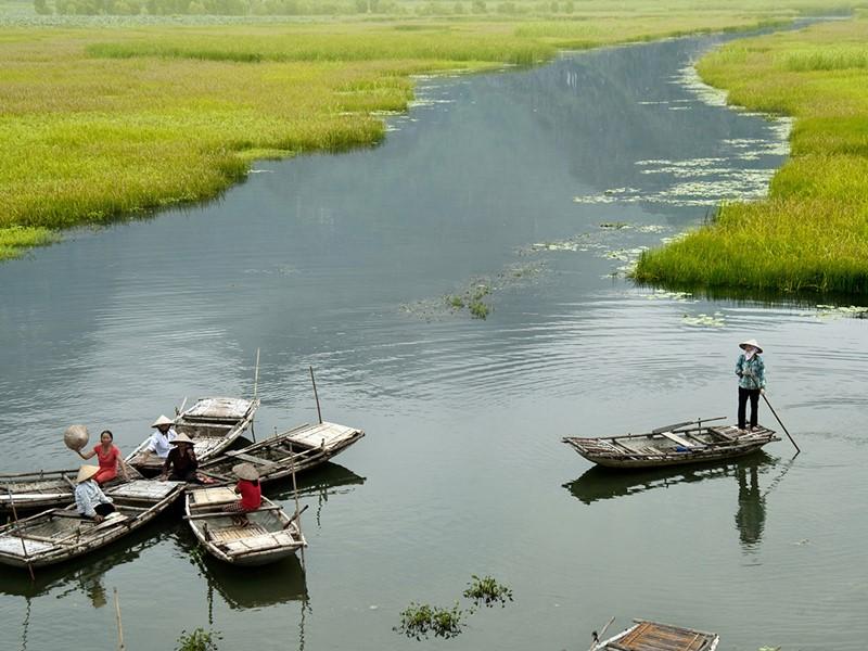 Ninh Binh, surnommée la baie d'Halong terrestre