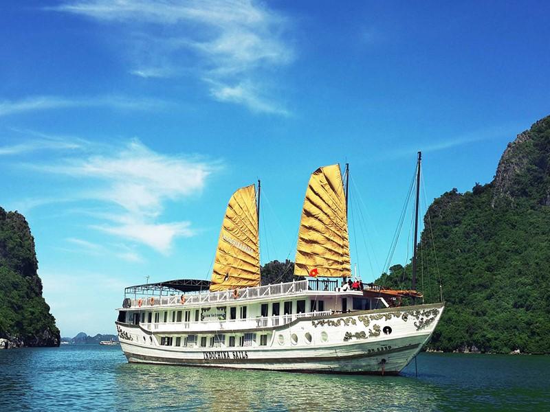 Croisière à bord de la Jonque Indochina Sails