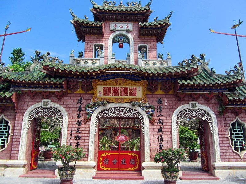 Visite du temple chinois de Hoi An