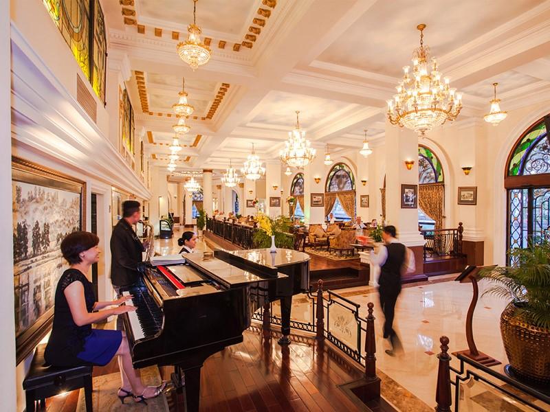 Restaurant de l'hôtel Majestic Saigon