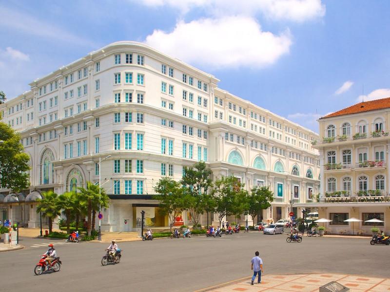 La rue Dong Khoi à Ho Chi Minh Ville