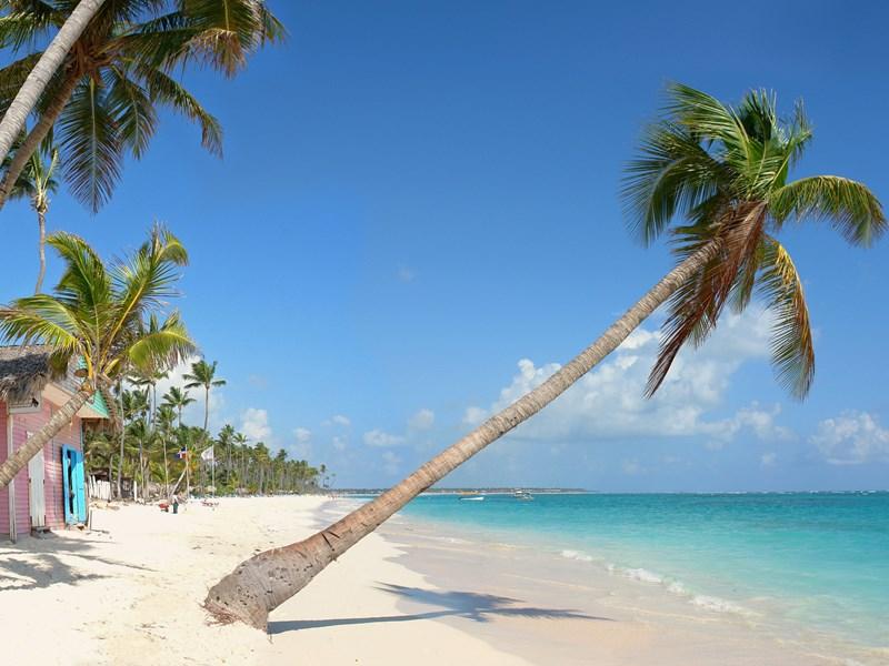 La plage de Bavaro à Punta Cana