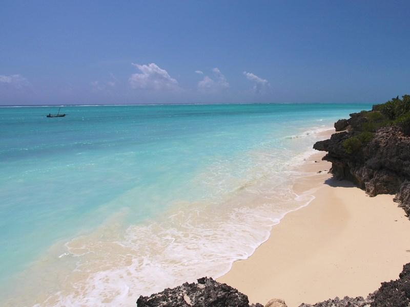 La plage de Nungwi à Zanzibar