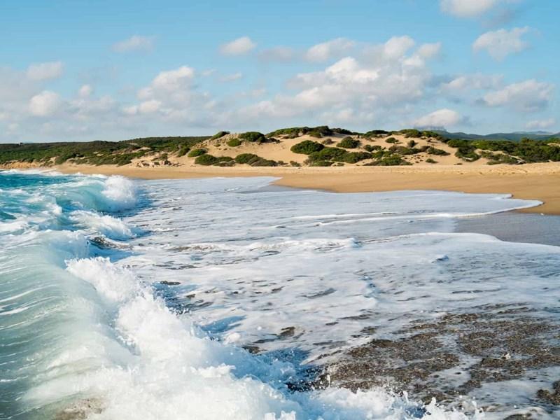La plage des Piscinas en Sardaigne