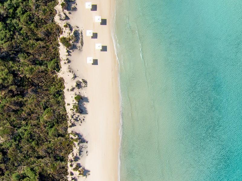 La plage du Bousoulas en Grèce