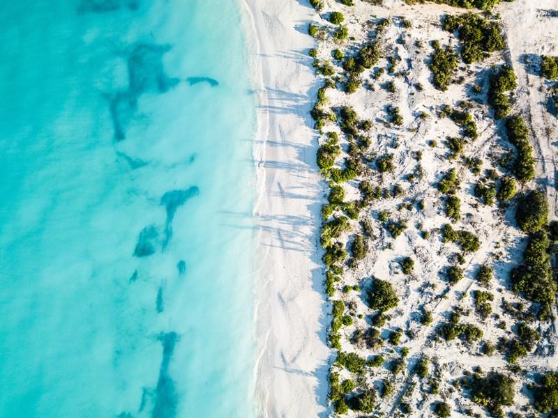 Grace Bay aux Turques-et-Caïques