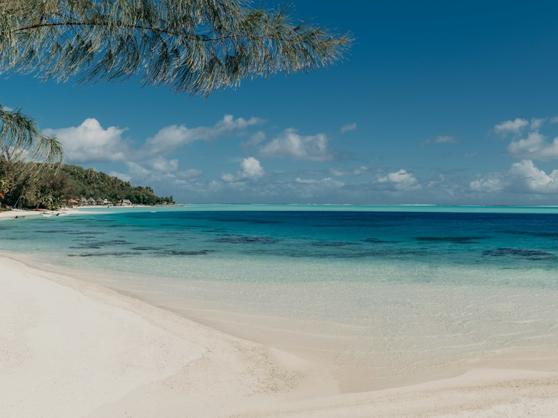 Matira Beach à Bora Bora