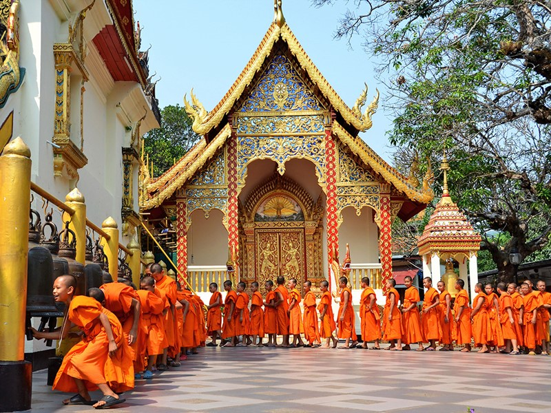 À la découverte des temples de Chiang Mai