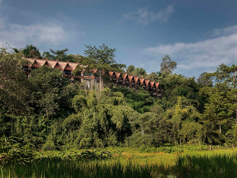 Immersion dans la nature de l'Anantara Golden Triangle