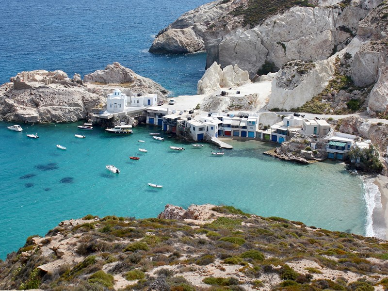 Découverte des villages de pêcheurs de Milos