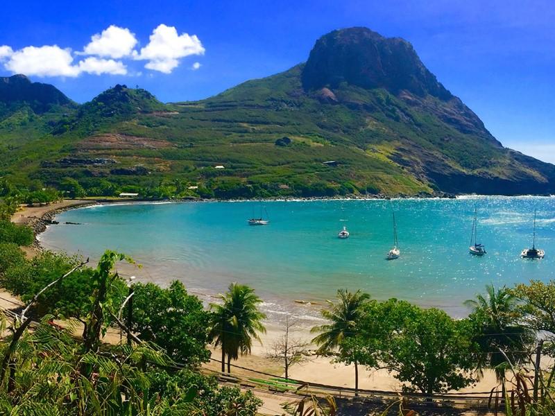 Ua Pou, la troisième plus grande île de l'archipel