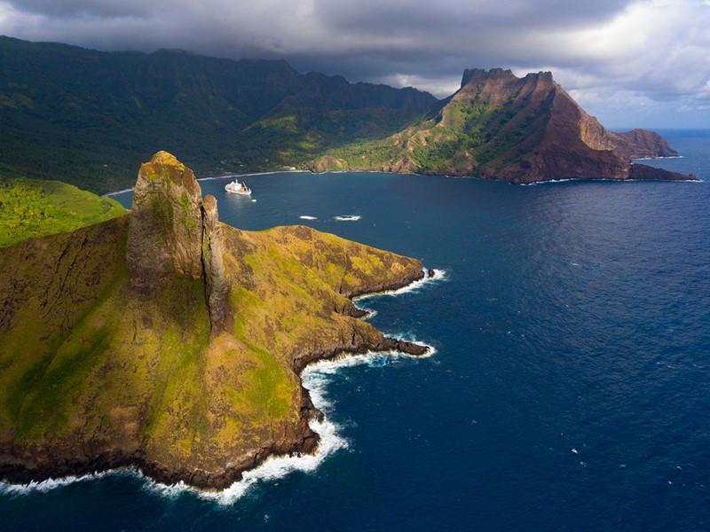 Hiva Oa, la plus connue des îles Marquises