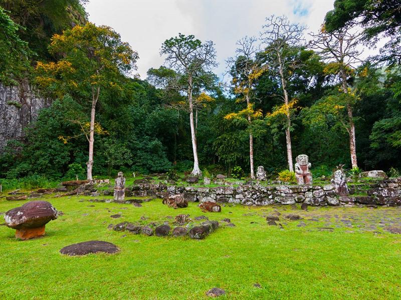 Hiva Oa, une île riche en sites archéologiques