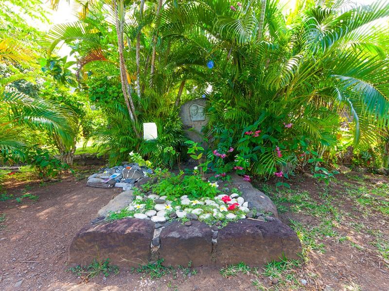 La tombe de Jacques Brel