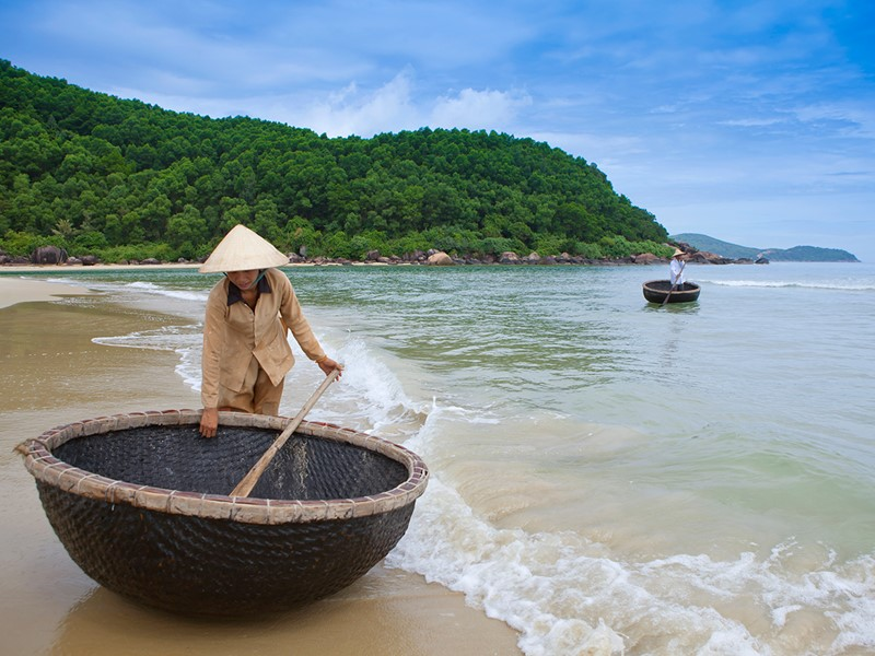 Petit village de pêcheurs à Lang Co