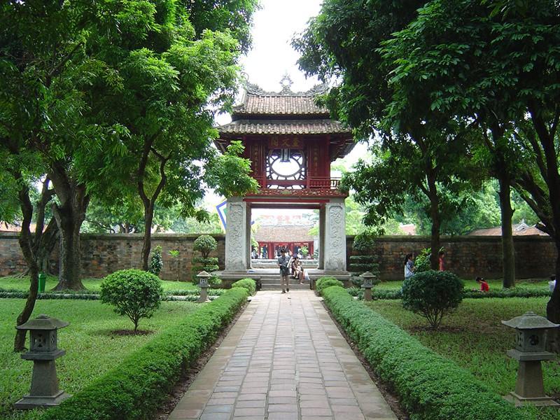 Le temple de la Littérature à Hanoï