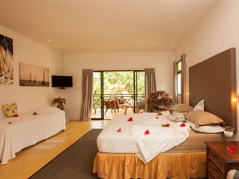 Standard Room à l'hôtel Les Lauriers
