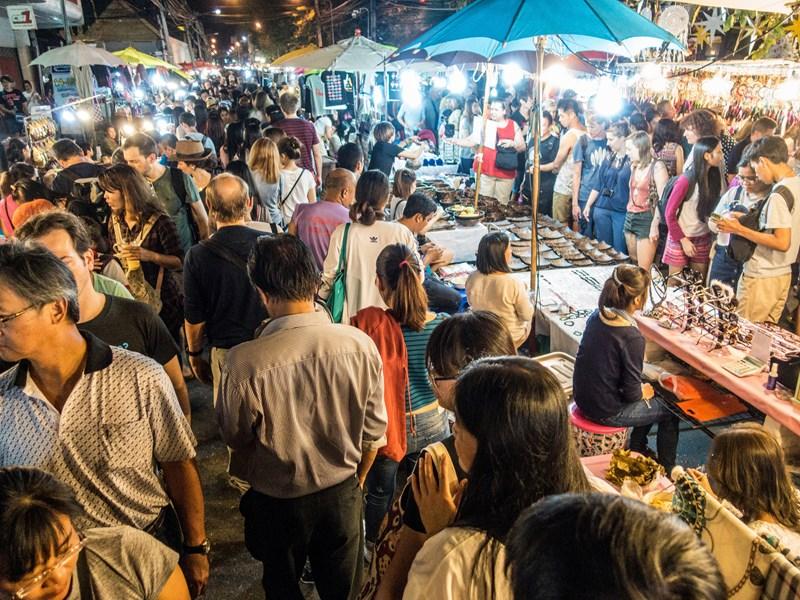Profitez des marchés de Chiang Mai