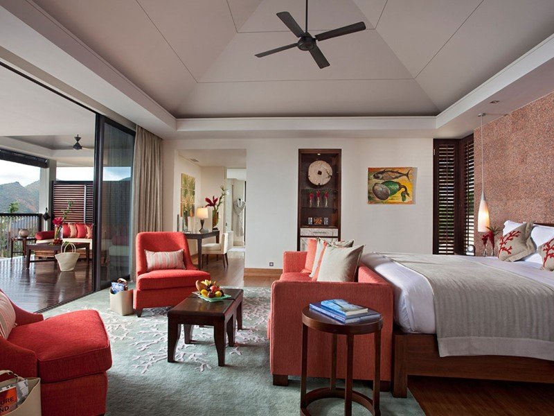 Raffles Oceanview Villa de l'hôtel Raffles Praslin
