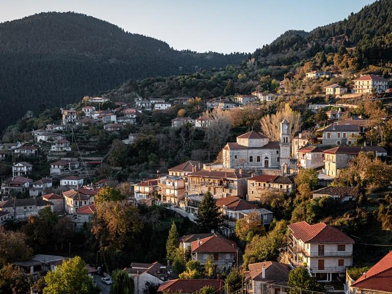 Découvrez les villages pittoresques de l'Arcadie