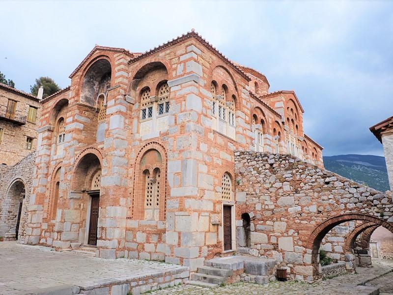 Visitez le monastère byzantin de Hosios Loukas